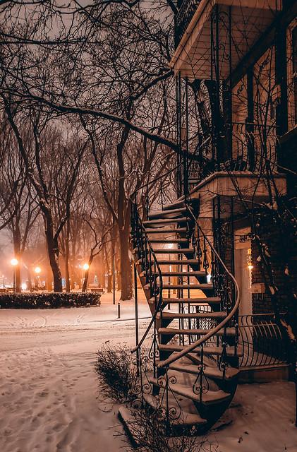 Winter Wonderland Staircase