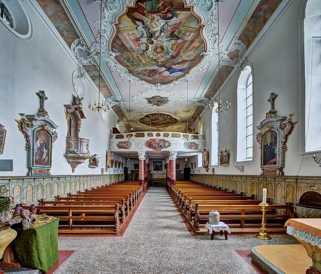 Habsthal, Klosterkirche der Benediktinerinnen und Pfarrkirche St. Stephan