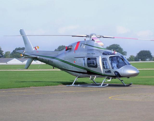 N119HH  -  Agusta 119 Koala c/n 14008  -  EGBK 3/9/10