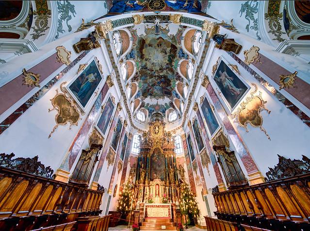 Biberach, simultane Stadtpfarrkirche St. Maria und Martin
