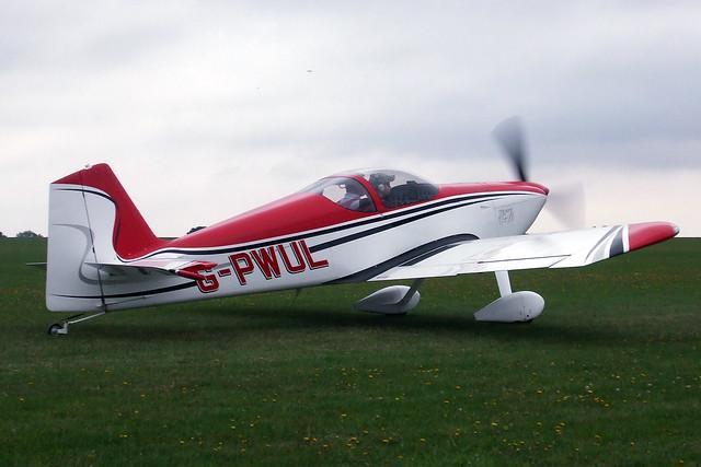 G-PWUL  -  Vans RV-6 c/n PFA 181-12773  -  EGBK 3/9/11