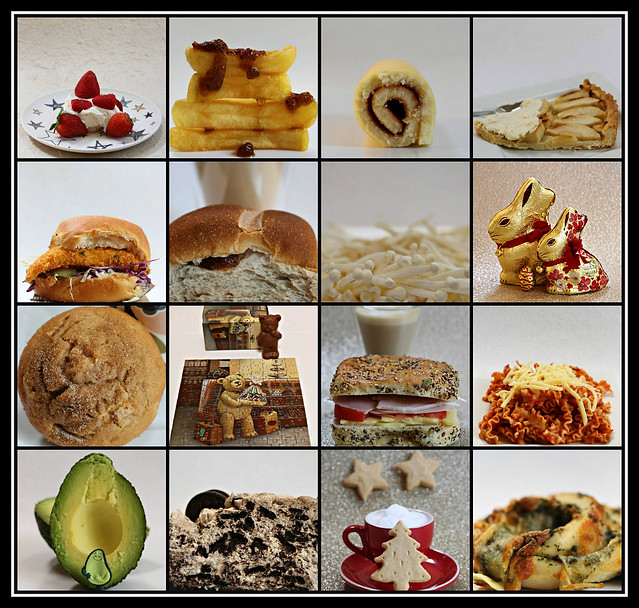 Some favourite food & drinks of 2020 collage #13