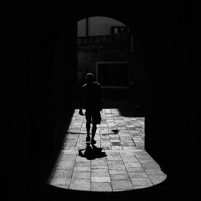 Alone in Venice!