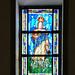 vidriera interior Iglesia matriz Igreja de Nossa Senhora da Encarnação en Vila Real de Santo Antonio Portugal 06