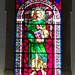 vidriera interior Iglesia matriz Igreja de Nossa Senhora da Encarnação en Vila Real de Santo Antonio Portugal 02