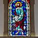 vidriera interior Iglesia matriz Igreja de Nossa Senhora da Encarnação en Vila Real de Santo Antonio Portugal 05