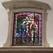 vidriera interior Iglesia matriz Igreja de Nossa Senhora da Encarnação en Vila Real de Santo Antonio Portugal 04