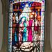 vidriera interior Iglesia matriz Igreja de Nossa Senhora da Encarnação en Vila Real de Santo Antonio Portugal 03