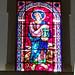 vidriera interior Iglesia matriz Igreja de Nossa Senhora da Encarnação en Vila Real de Santo Antonio Portugal 01