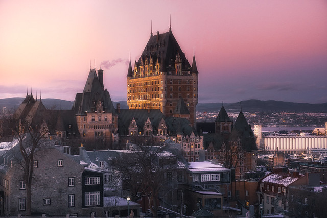 The most Photographed Hotel in the World Fairmont Le Château Frontenac
