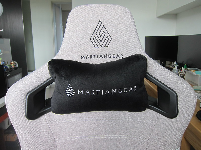 Martiangear Astronaut (Fabric) Gaming Chair - Neck Pillow On Cutouts