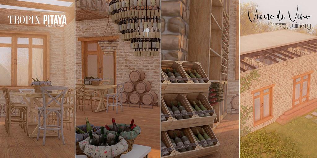 Pitaya&Tropix – Vivere di Vino Winery @ Food Court