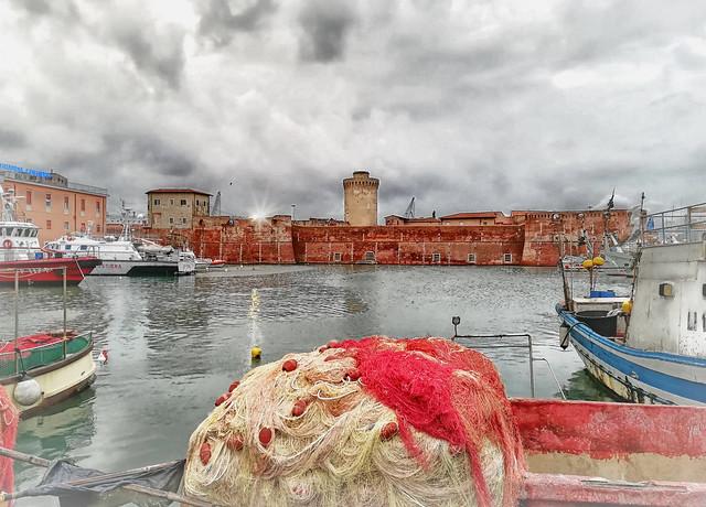 Porto di Livorno - La Darsena Vecchia