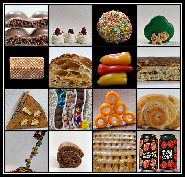 Some favourite food & drinks of 2020 collage #5