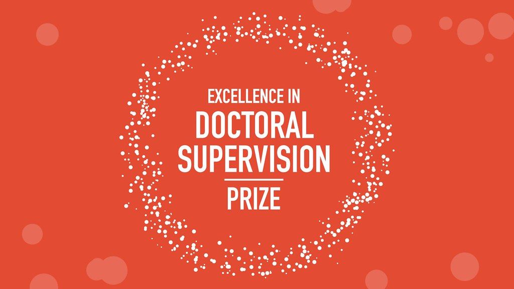 A picture of the Excellence in Doctoral Supervision Prize logo