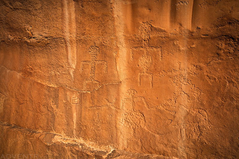 Split Level Petroglyphs