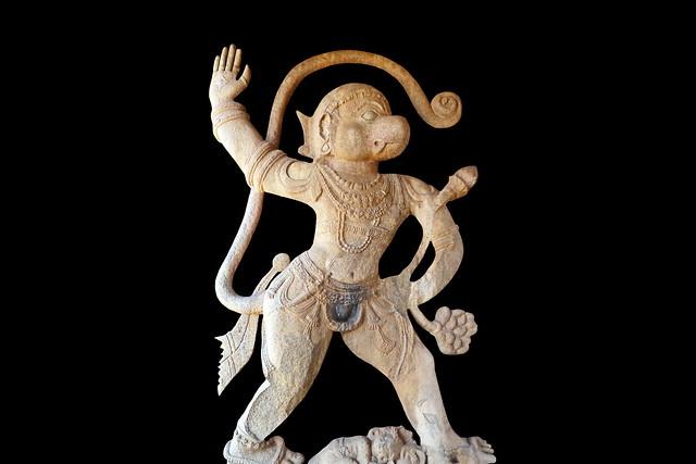 India - Karnataka - Hampi - Hanuman - 21d