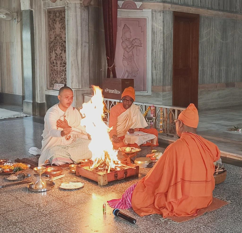 Holy Mother's Ttithi Puja (22)