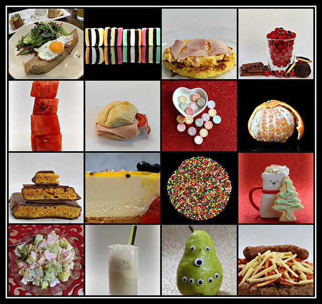 Some favourite food & drinks of 2020 collage #8