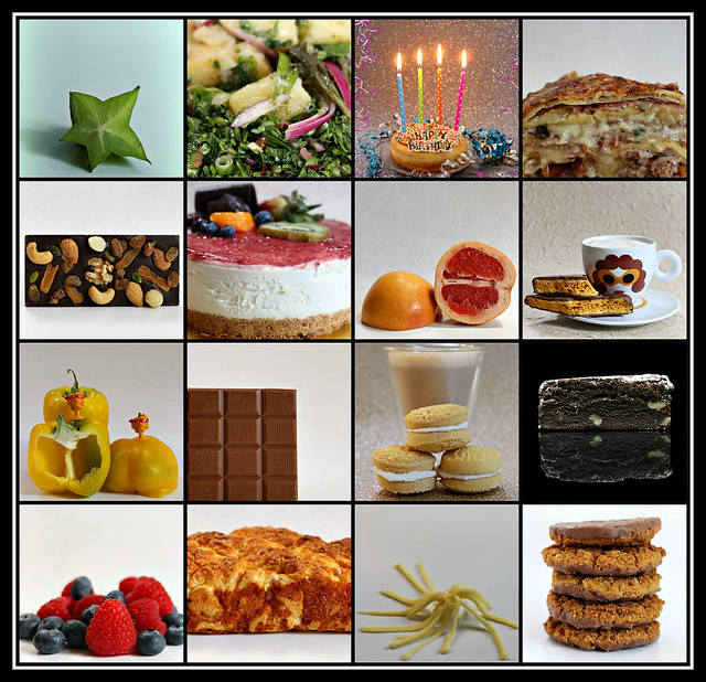 Some favourite food & drinks of 2020 collage #12