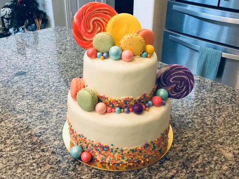 Cake by Cupcake Cutie Bakeshop