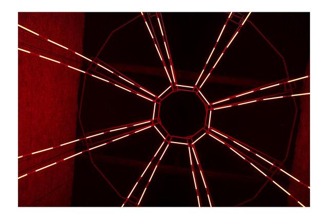 Hypnotized by red