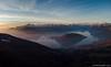 Panoramica aerea del lago d'Iseo