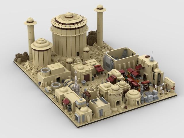 Lego Modular Tatooine