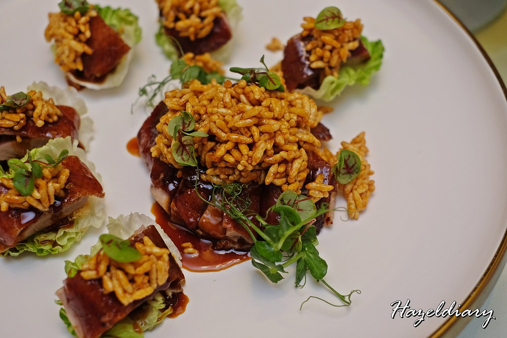 Crystal Jade Restaurants-Roasted Irish Duck with Crispy Rice in Chef Special Sauce