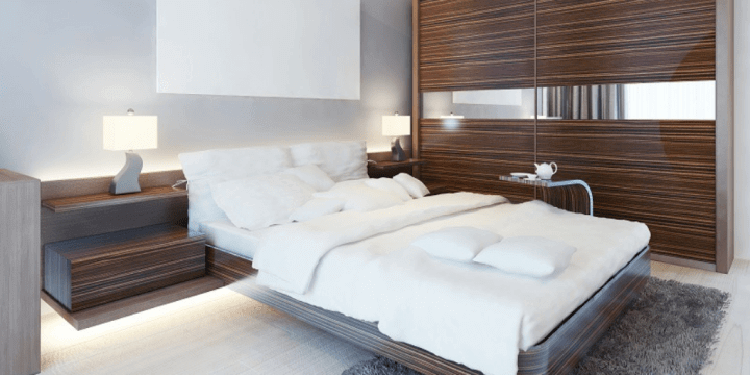 bedroom space at home