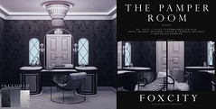 FOXCITY. Photo Booth - The Pamper Room (Black)