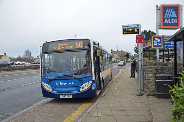 Stagecoach YY15 OWP, Thornbury