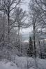 beskid mały w śniegu