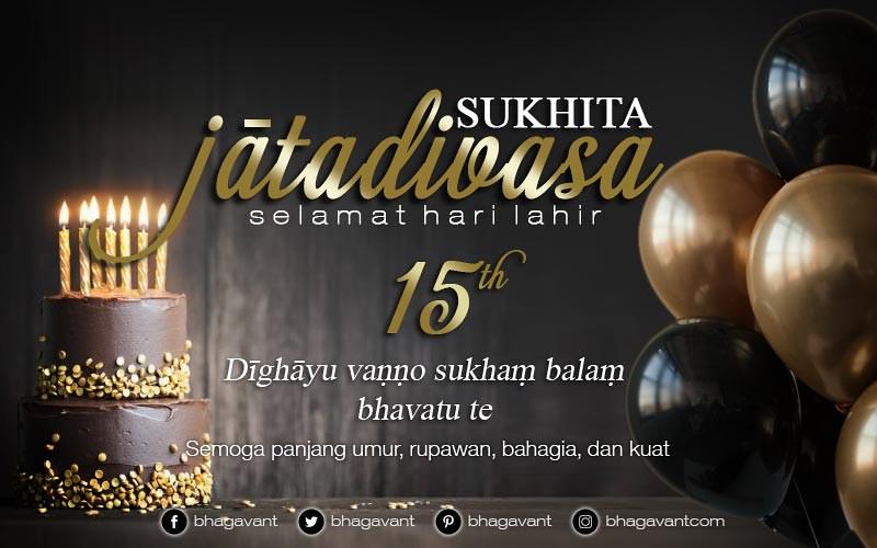 Salam Buddhis Ucapan Selamat Ulang Tahun Jatadivasa