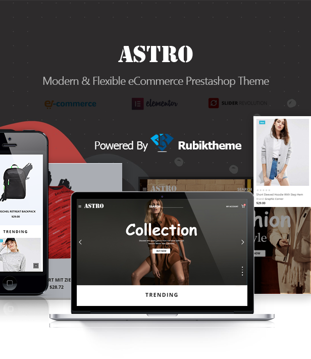 Azura -  Fashion Ecommerce Shopping Theme