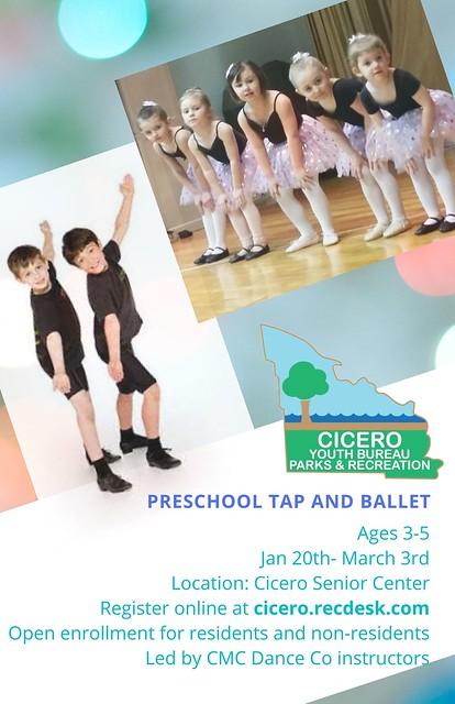 Preschool Tap and Ballet