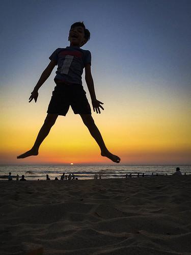 silhotte sunset beach lateevening sand beachside agastyaa sky dusk