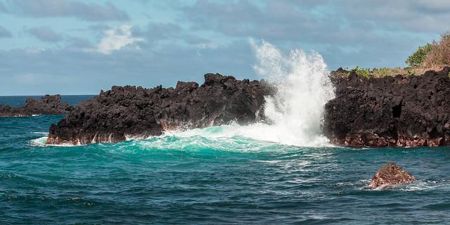 Crashing Wave in Maui