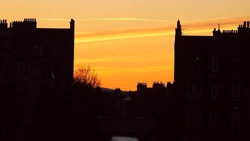 Sunset Along the Canal 01
