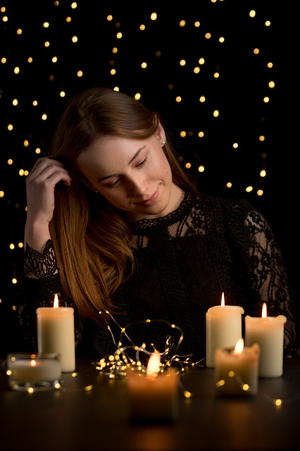 Beata & candles