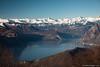 Il lago d'Iseo da Punta dell'orto