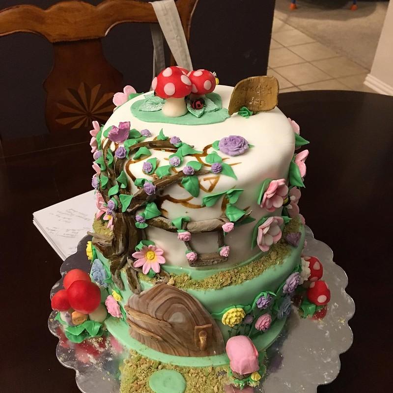 Cake by Lemon Cottage Bakery