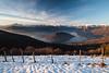 Un affascinante vista su Monte Isola ed il lago d'Iseo
