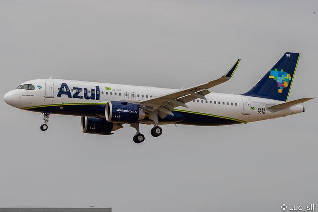 A320-251 Neo AZUL Linhas Aereas Brasileiras // PR-YSG (F-WWBZ)
