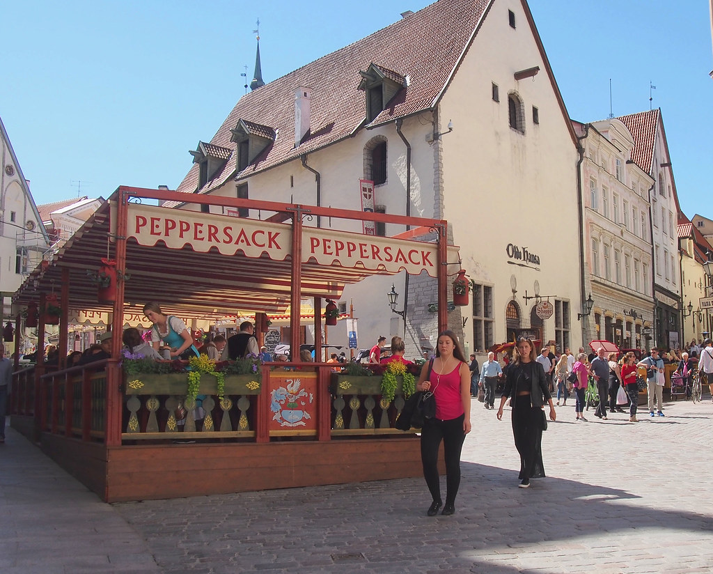 Tallinna vanha kaupunki ravintola