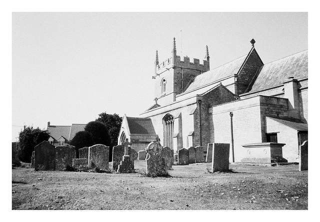FILM - St Mary's church, Swinstead