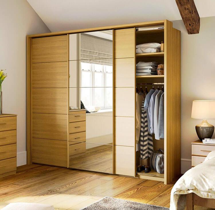 Sliding cupboard doors enhances Storage at home