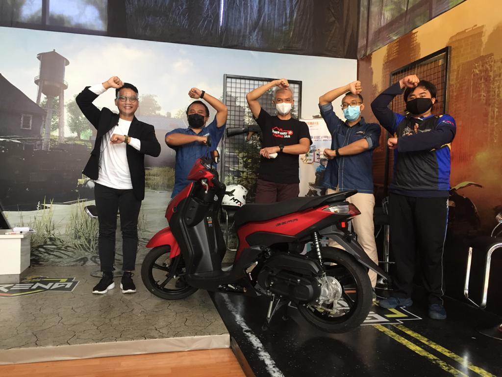 Yamaha Generasi 125 E-Sport Competition Jateng-DIY bersama Gubernur Jawa Tengah Ganjar Pranowo