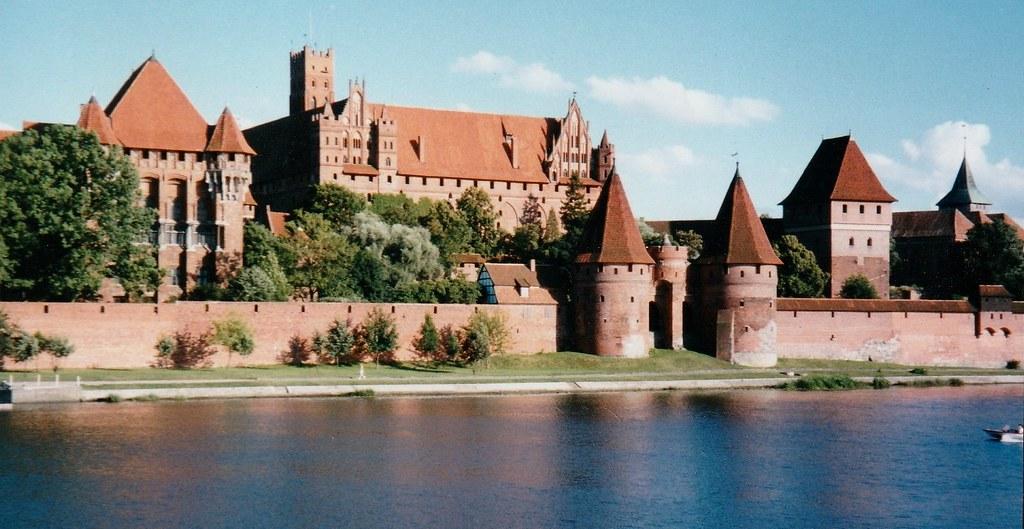 Forteresse teutonique de Marienbourg, Malbork, Poméranie, Pologne.