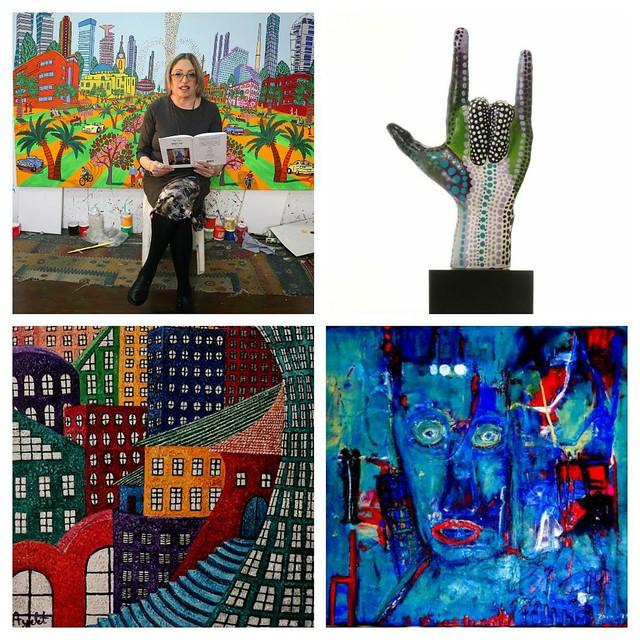 סמדר שרת רחל פרנק איילת בוקר שרה זלוטי רפי פרץ תמונות ציורים למכירה התמונות הציורים הפסלים השירים תצוגת יצירות אמנות